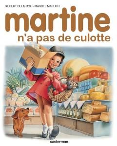 parodie martine n'a pas de culotte