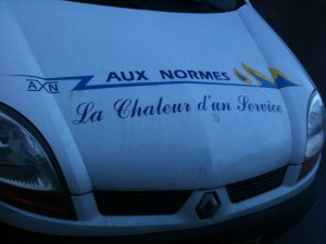 Aux normes, la chaleur d'un service